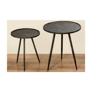 Odkládací stolek Boltze Lox, ⌀40cm