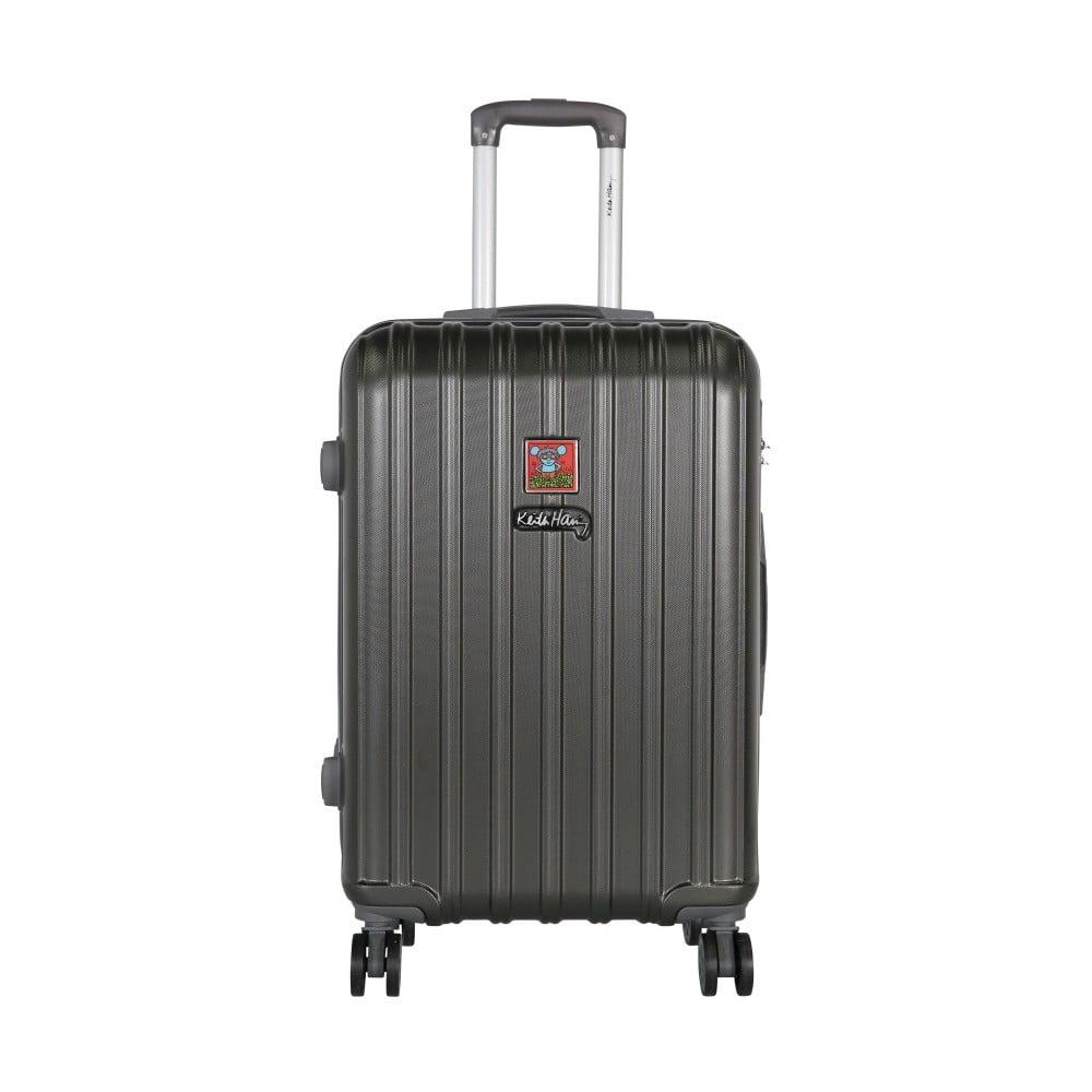 Tmavě šedý cestovní kufr LULU CASTAGNETTE Edge, 71l