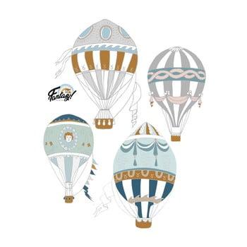 Set 4 autocolante Dekornik Ballons