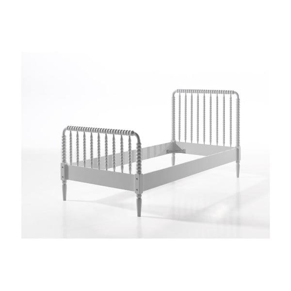 Bílá dětská postel Vipack Alana, 90x200cm