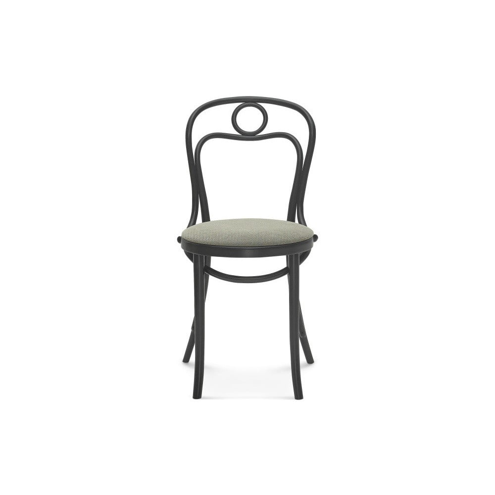 Černá dřevěná židle Fameg Jesper
