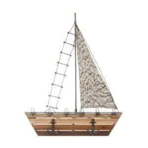 Cuier cu formă barcă cu pânze Ixia Seaside
