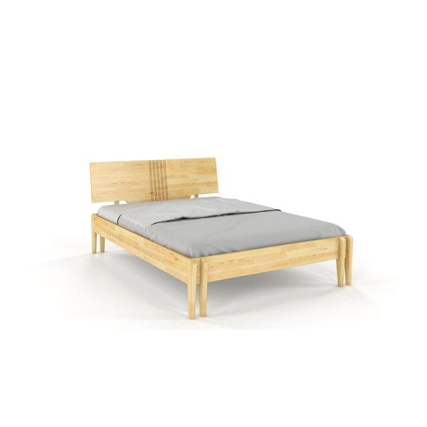 Dvojlôžková posteľ z borovicového dreva Skandica Visby Poznan, 140 x 200 cm