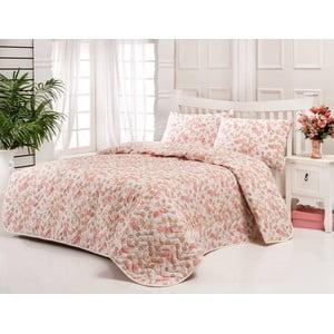 Sada prošívaného přehozu přes postel a polštáře Single 196, 160x220 cm