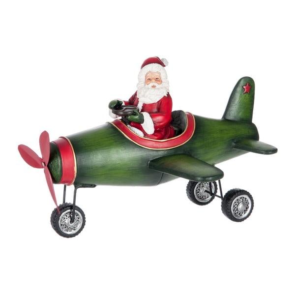 Dekorace Christmas Plane