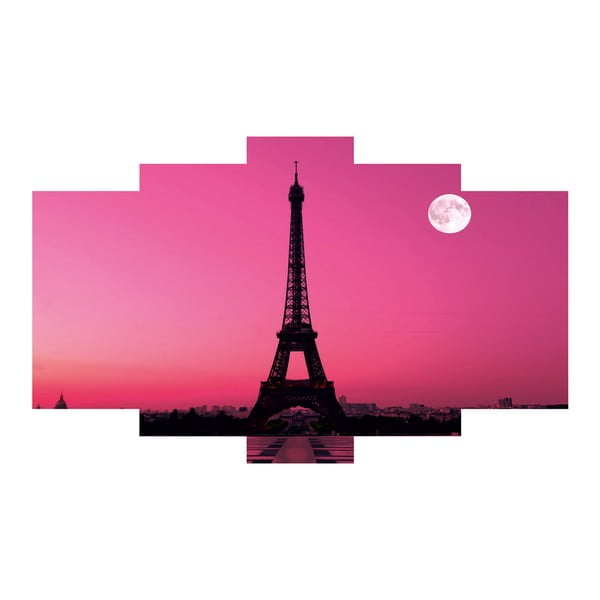 5dílný obraz Paris