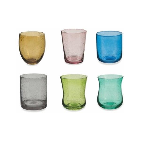 Sada 6 farebných pohárov Villa d'Este Cromia, 330 ml