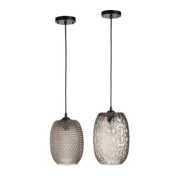 Sada dvou stropních světel Aubergine