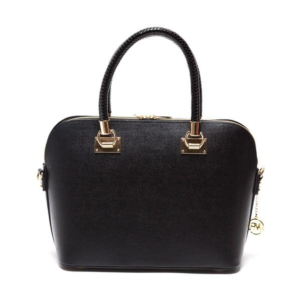 Kožená kabelka Felisa, černá