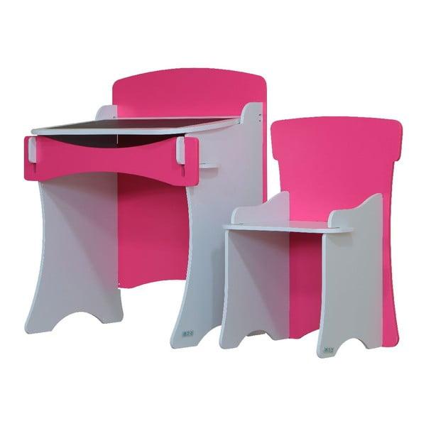 Dětský stolek a křesílko Pink