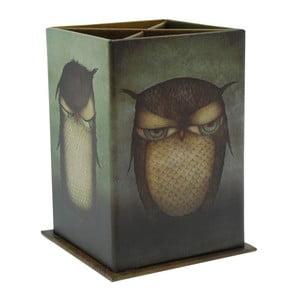Suport pixuri Santoro London Grumpy Owl