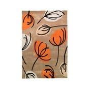 Koberec Fifties Floral 120x170 cm, oranžový
