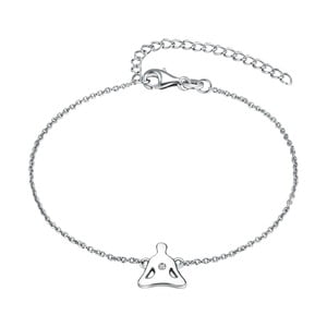 Stříbrný náramek s pravým diamantem Tess Diamonds Fabian