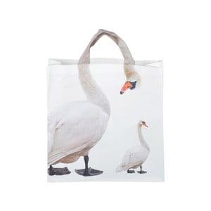 Nákupní taška s potiskem labutí Ego Dekor Nature