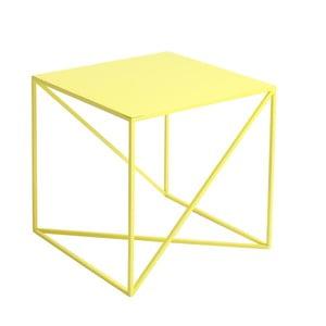 Žlutý odkládací stolek Custom Form Memo