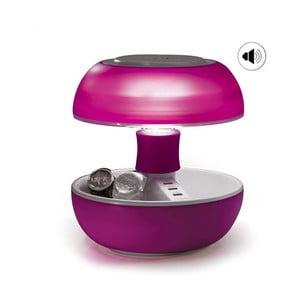 Stolní lampa, nabíječka a reprák v jednom Joyo Light, růžová