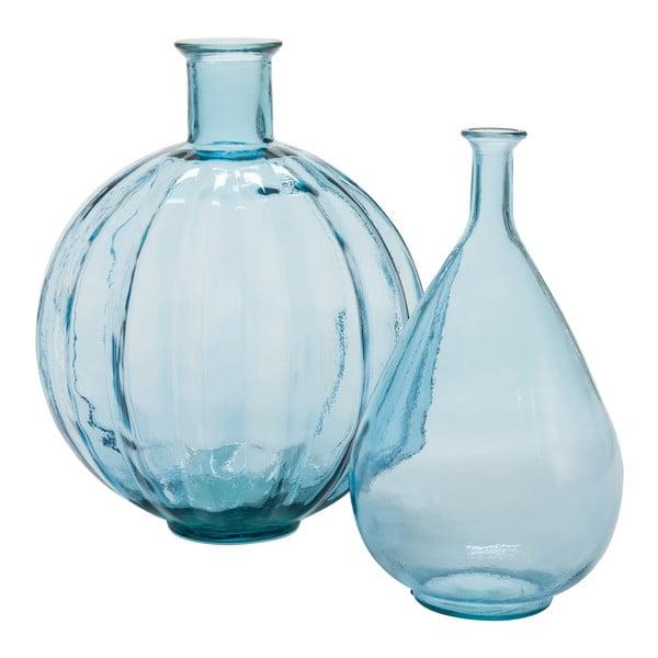 Váza Ball Blue, 33x33x42 cm