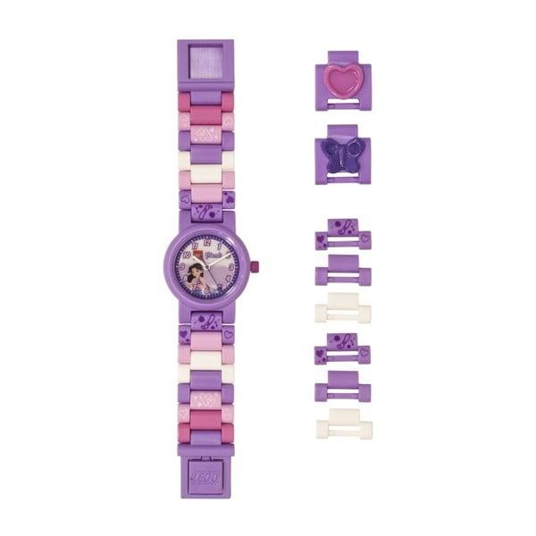 Ceas de mână LEGO® Friends Emma, mov