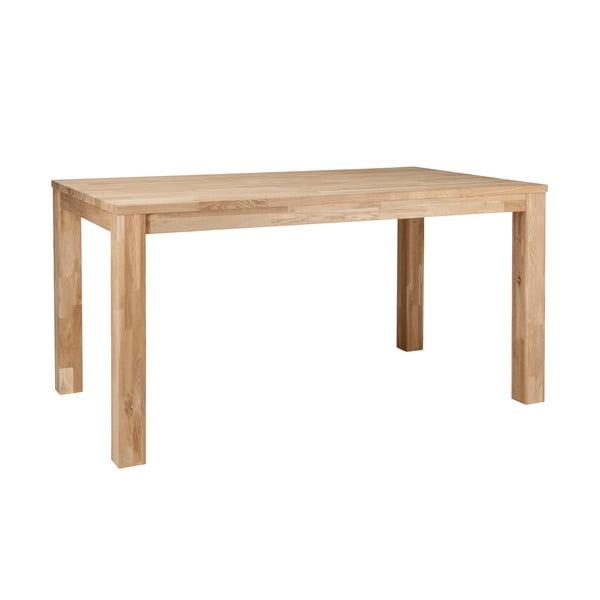 Dřevěný jídelní stůl De Eekhoorn Largo Untreated,180x85 cm