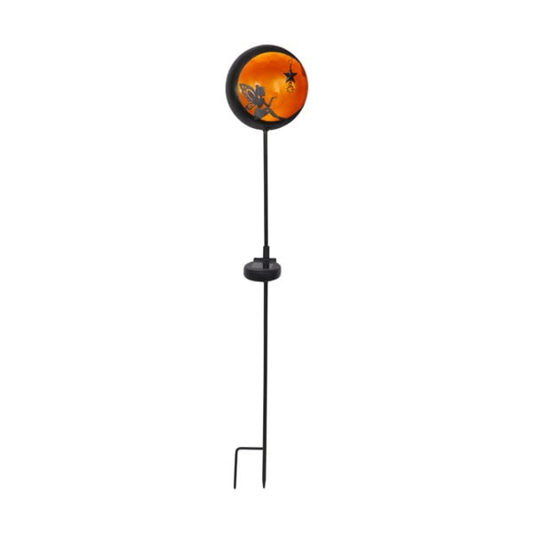 Lampadar solar LED pentru exterior Best Season Fairytale Orange