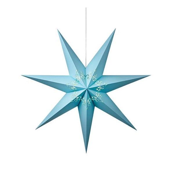 Svítící hvězda Kandy Light Blue, 75 cm