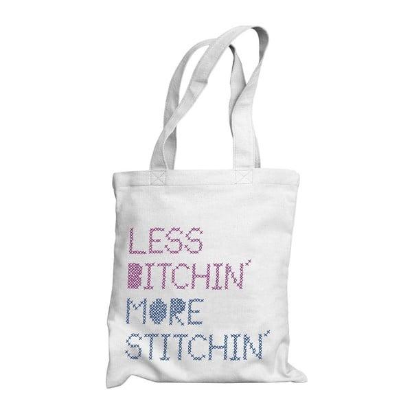 Taška Less bitchin, more stitchin