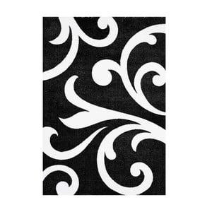 Černý koberec Tomasucci  Damasko, 140x190cm