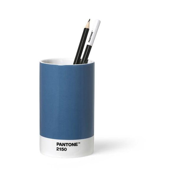 Suport din ceramică pentru pixuri și creioane Pantone, albastru