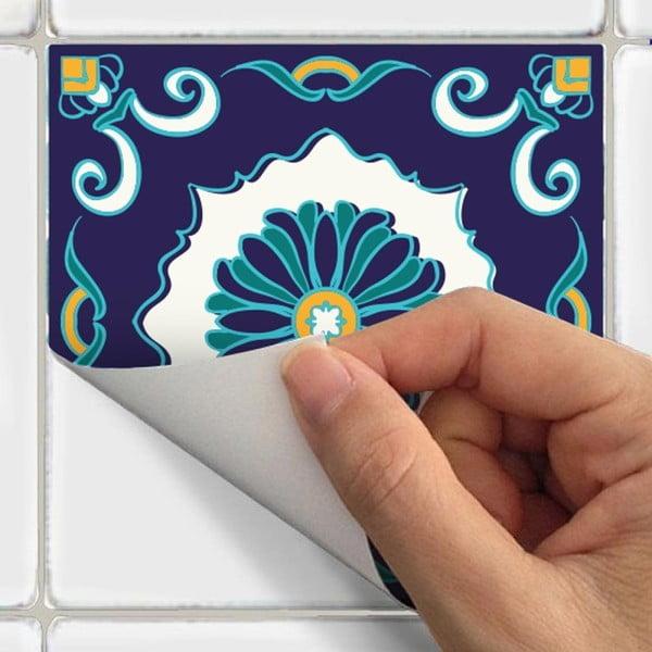 Set 30 autocolante Ambiance Tiles Azulejos Forli, 10 x 10 cm