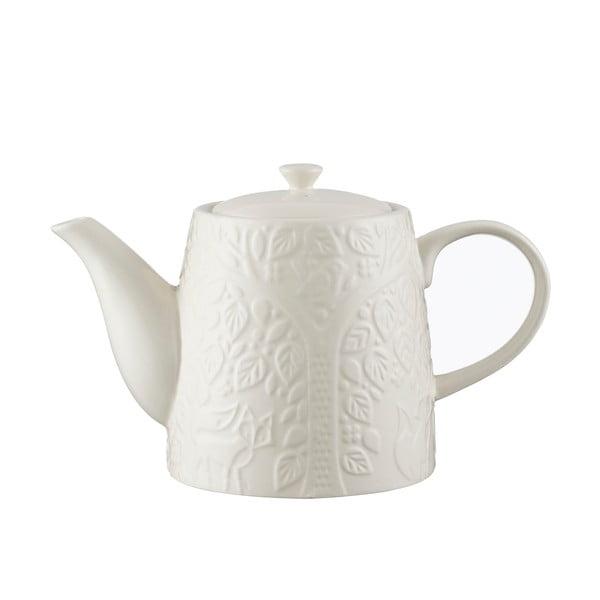 Ceainic din ceramică Mason Cash In the Forest, 1 l, alb