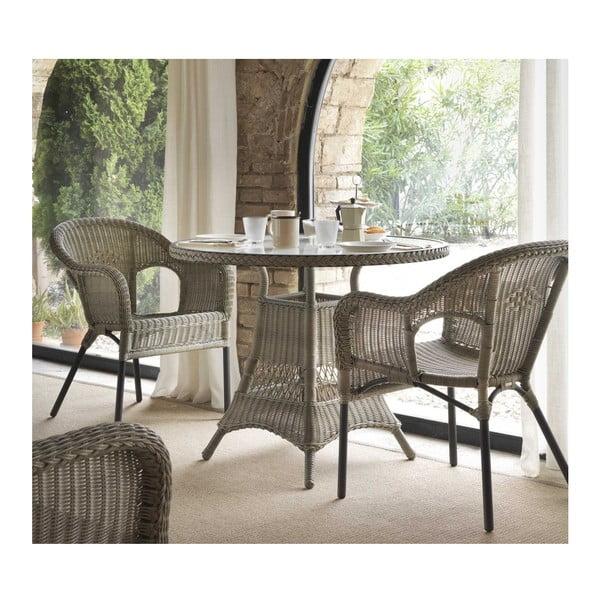 Zahradní jídelní stůl Geese Synthe, ⌀90cm
