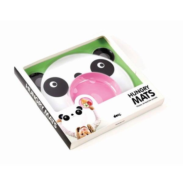 Sada prostírání a talíře DOIY Hungry Panda