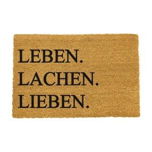 Rohožka Artsy Doormats Leben Lachen Liben,40x60cm