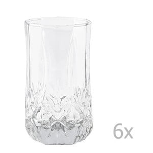 Set 6 pahare KJ Collection Glass, 240 ml