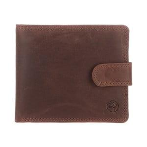 Kožená peněženka Theo Conker Brown