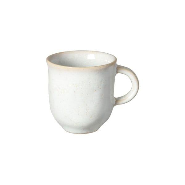 Ceașcă din gresie ceramică pentru espresso Costa Nova Roda, 80 ml, alb