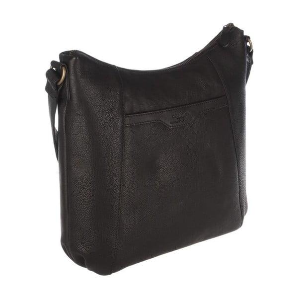 Kožená taška Emilia Liquorice