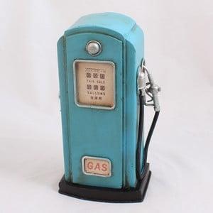 Pokladnička Benzínová pumpa, modrá
