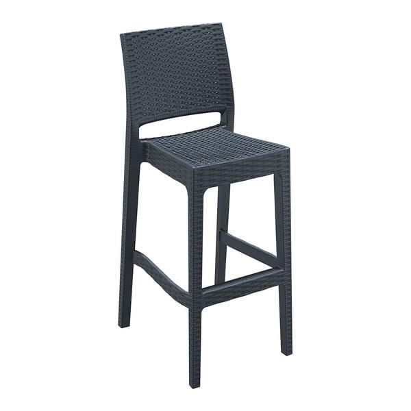Barová židle Jamaica, tmavě šedá
