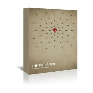 Obraz na plátně Pied Piper With Text od Christiana Jacksona