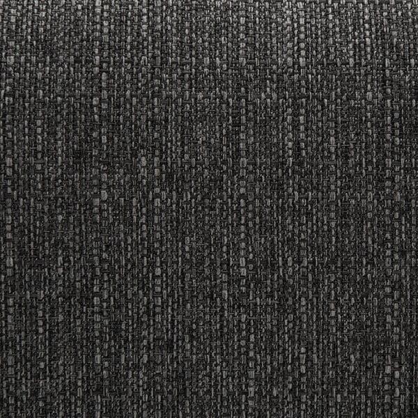 Antracitově šedá rohová pohovka s lenoškou na pravé straně Vivonita Milton