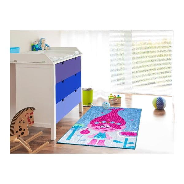 Dětský koberec Universal Trolls Queen, 95x133cm