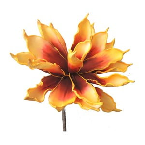 Žlutá umělá květina Stardeco