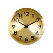Hodiny Present Time Gold Numbers