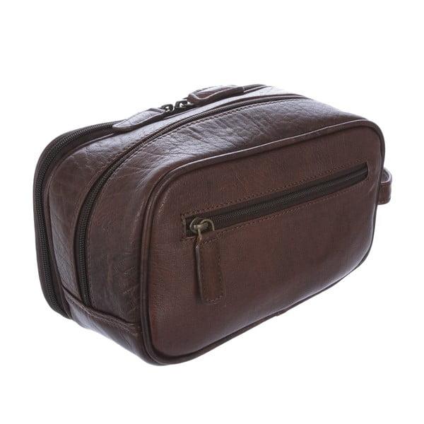 Kožená toaletní taška Thirlmere