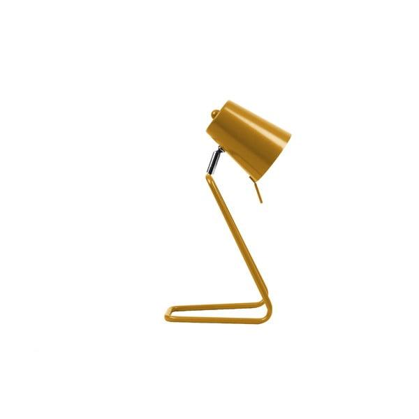 Żółta lampa stołowa Leitmotiv Z