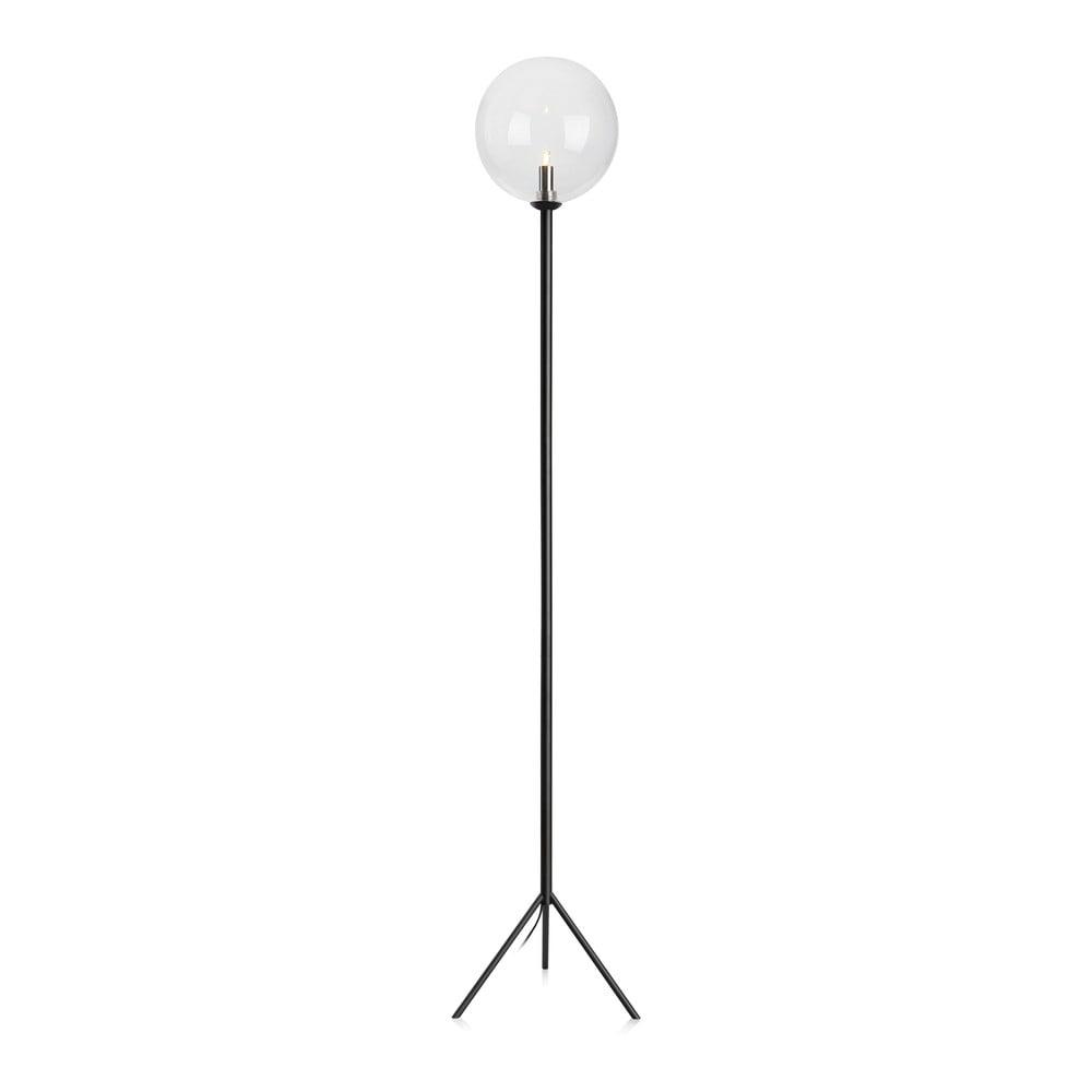 Černá volně stojící lampa Markslöjd Andrew Floor Black