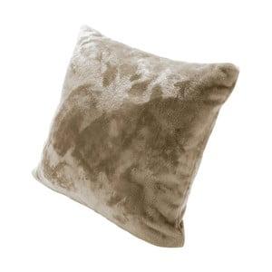 Pernă cu umplutură Biederlack Uni Sand, 50 x 50 cm