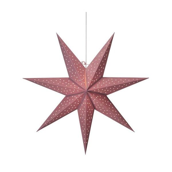 Decorațiune luminoasă suspendată Markslöjd Clara, ø 75 cm, roz