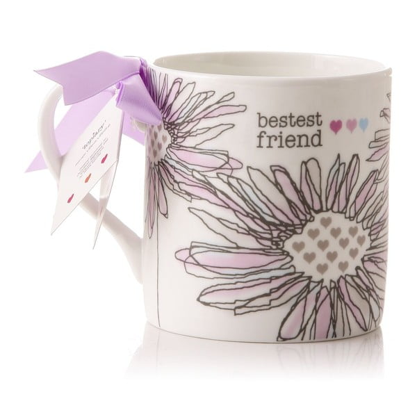 Porcelánový hrnek Bestest friend